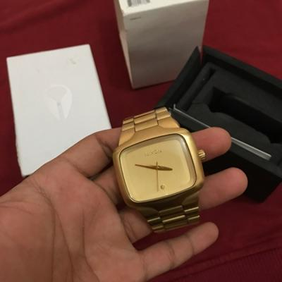 Nixon Big Player All Gold Fullset ORIGINAL