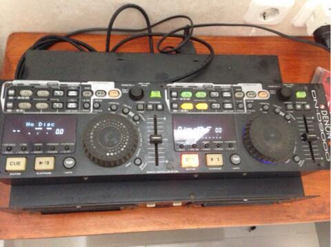Turntable Technics SL-1210MK2, CDJ Denon DN-D9000, Mixer interM DM606