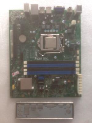 mobo acer 1155+proses g2020