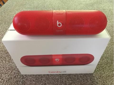 Beats Pill Original (second) warna Merah