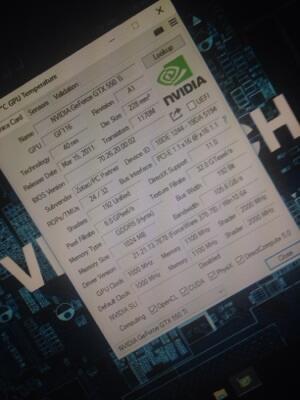 Vga gaming nvidia gtx 550ti 1gb 192bit ddr5