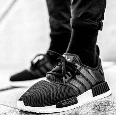 Adidas NMD R1 Black White