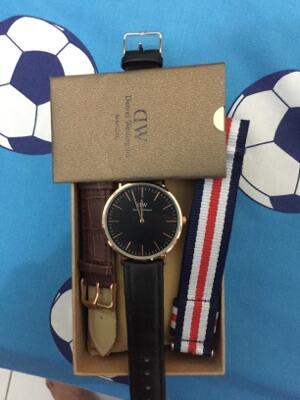 (jual) jam tangan daniel wellington black series