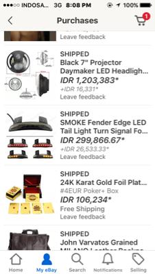 Jasa Bayar Beli Ebay,Aliexpress,Alibaba,Amazon,Airbnb,Gearbest.