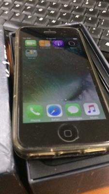 iPhone 5 Black 16GB Murah Lengkap