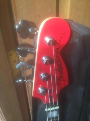 Fender Jaguar Bass Hot Road Red