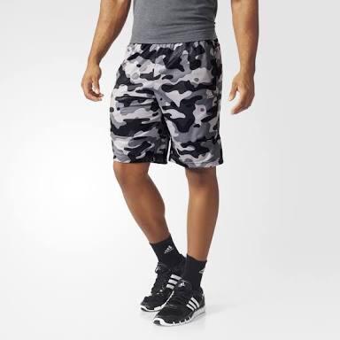 Adidas Men's Swat Short 3 Camo AOP Grey Original