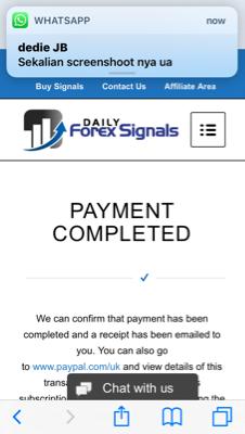 Langganan bisnis di Daily Forex Signals Limited