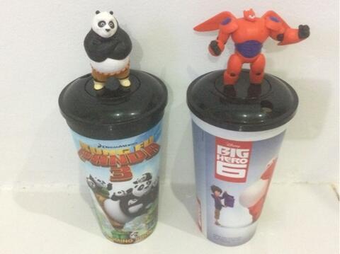 Tumbler Kungfu panda & Big hero 6