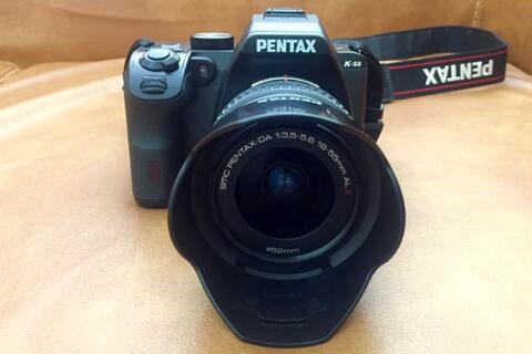Kamera Dslr Pentax Ks2 + Lensa Kit 18-55 II