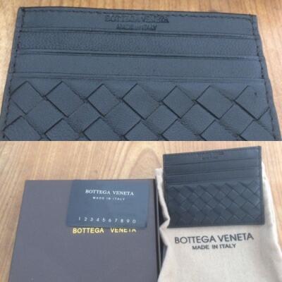 Dompet Kulit Bottega Veneta warna hitam