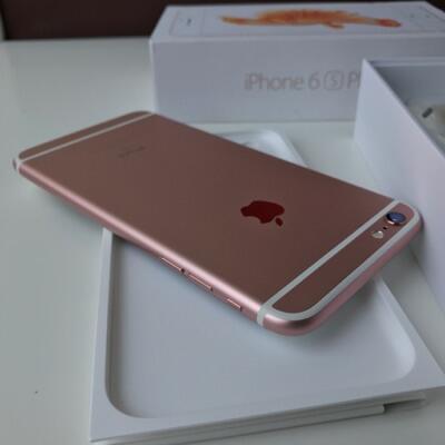 Terjual iPhone 6s plus 128GB Rose Gold 2b9cf941a9