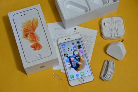 iPhone 6s 64GB rosegold Lengkap bandung