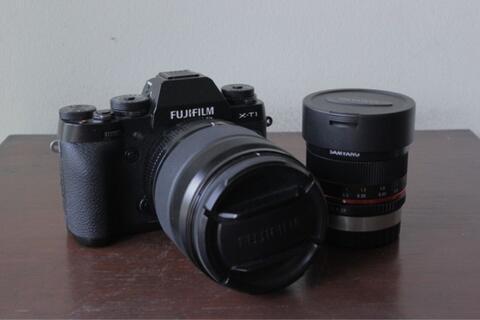 fujifilm xt 1 with lens