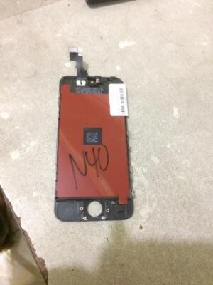 LCD Iphone 5S hitam (touchscreen rewel)