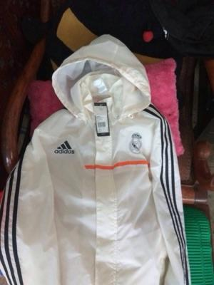 Adidas Real Madrid 13-14 white jacket