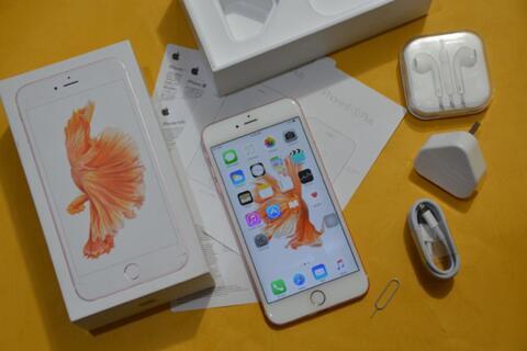 iPhone 6S Plus 64GB Rosegold Fullset ex inter (cod bandung)