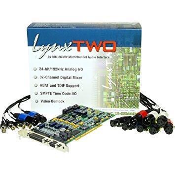 soundcard pci lynx two b + monitor controll sm pro