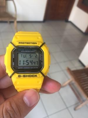 G-Shock DW 5600 Yellow