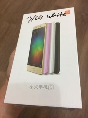 (BNIB) Xiaomi Mi 5 White Ram 3/64. Original. Garansi Distributor. Rom Global.