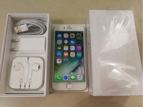 [GPL] iPhone 6 16Gb Gold fullset muluss maknyuss bin normal