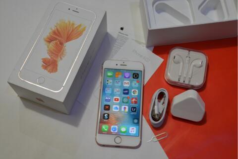 iPhone 6s 16GB rosegold Fullset resmi ex Internasional (cod bandung)