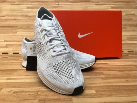 Terjual BNIB Nike Flyknit Racer White Original Adidas Nmd