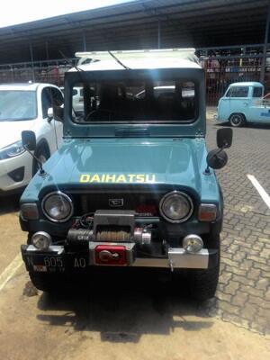 Terjual Daihatsu Taft Kebo/Badak Diesel F50 1982 Vintage ...