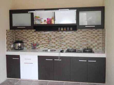Terjual Kitchen Set Hitam Putih Minimalis Kaskus