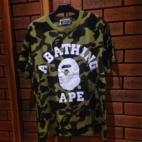 Kaos T-Shirt A Bathing Ape Bape Ready Stock