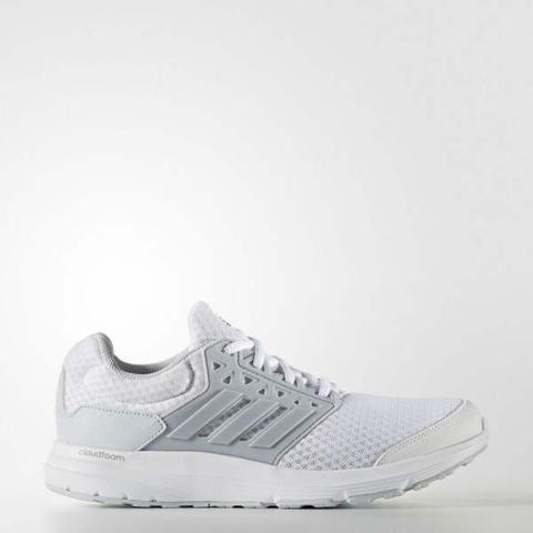 Adidas Men Galaxy 3 Cloudfoam Shoes White Original