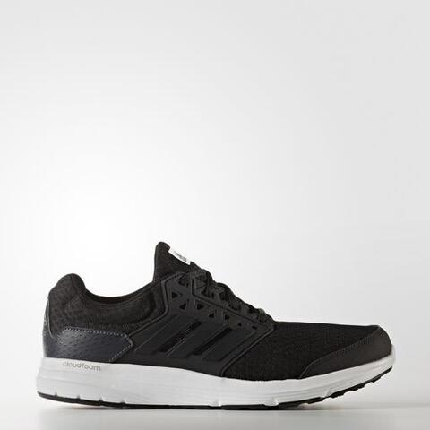 Adidas Men Galaxy 3 Cloudfoam Shoes Black Original