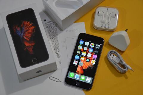 iPhone 6s space grey 16GB Lengkap Resmi internasional (cod bandung)