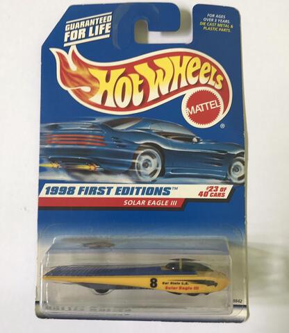 Hot Wheels Solar Eagle III '98 - Limited