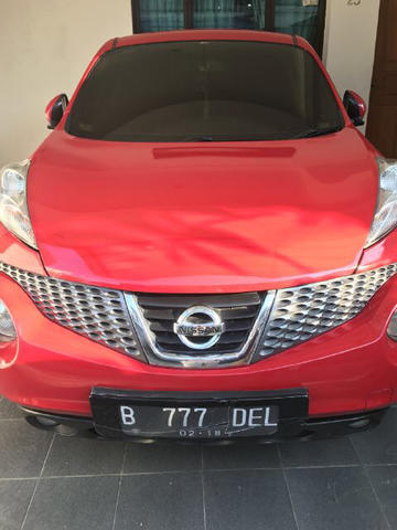 Nissan Juke Red Edition 2013
