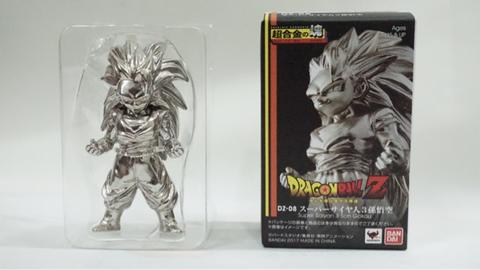 Dragon Ball Z Super Saiyan 3 Son Gokou Bandai Metal Collection