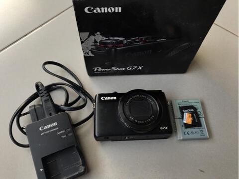 canon g7x fullset murah