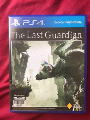 DIJUAL KASET PS4 THE LAST GUARDIAN