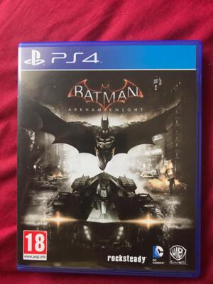 DIJUAL KASET PS4 BATMAN ARKHAM