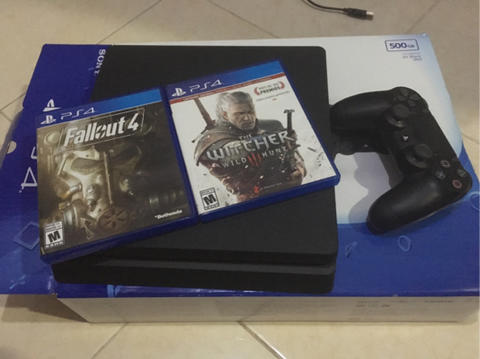 PS4 Slim CUH 2006A 500GB Black Jet