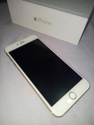Terjual iphone 6+ 6 plus 128gb white gold second bekas bandung  a731016772