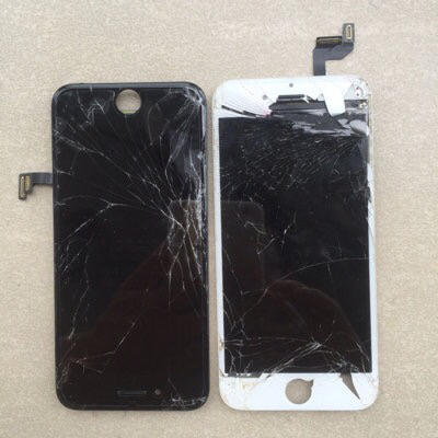 Service Lcd iphone 7 dan 7 plus Retak - Pecah