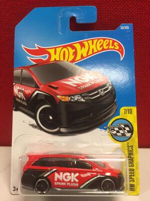 Hotwheels Honda Odyssey