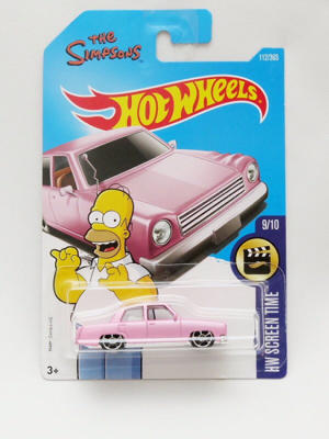 Hotwheels The Simpsons Family Car