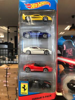 Hotwheels Ferrari 5-Pack
