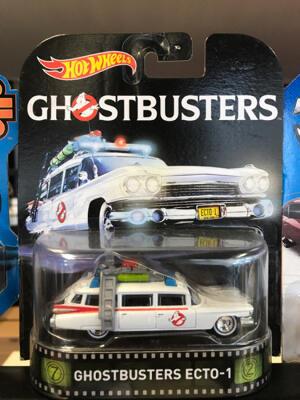 Hotwheels Ghostbuster Ecto-1