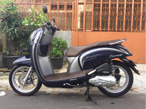 """Honda Scoopy FI ISS ESP Th""""2016 B.DKI Pjk Pjg KM Rendah"""