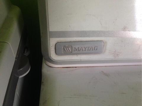 Dryer Maytag 10,5kg & Mesin Cuci LG Wind Jet Dry