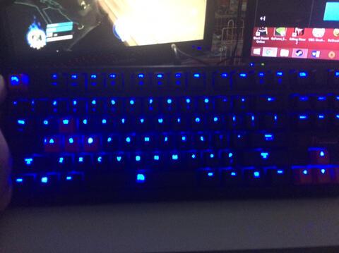 Keyboard mechanical Murah! TtEsport Poseidon XV by thermaltake