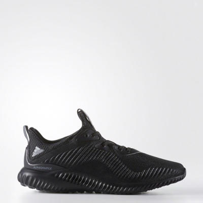 Adidas Men Alphabounce Engineered Mesh Shoes Black Original